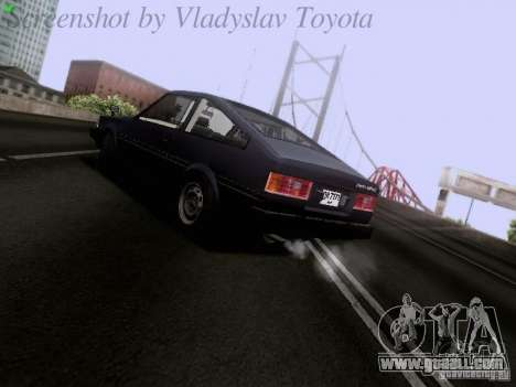 Toyota Corolla TE71 Coupe for GTA San Andreas right view