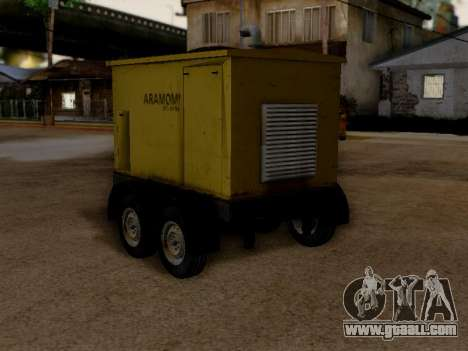 Trailer Generator for GTA San Andreas left view