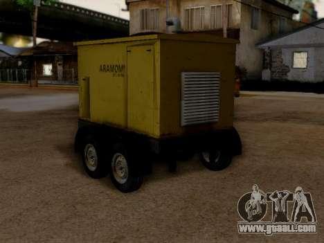 Trailer Generator for GTA San Andreas left view