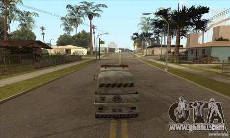 Work Street Sweeper for GTA San Andreas forth screenshot