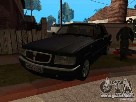 Volga GAZ 3110 for GTA San Andreas