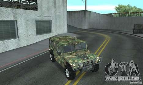 Hummer H1 for GTA San Andreas engine