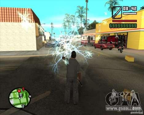 Chidory Mod for GTA San Andreas fifth screenshot
