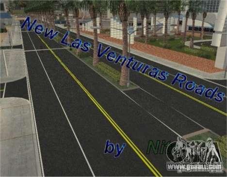 New roads in Las Venturas for GTA San Andreas