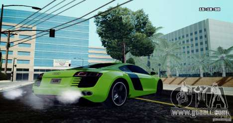 Audi R8 Light Tuned Version for GTA San Andreas left view