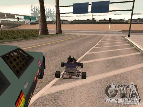 Acceleration for GTA San Andreas