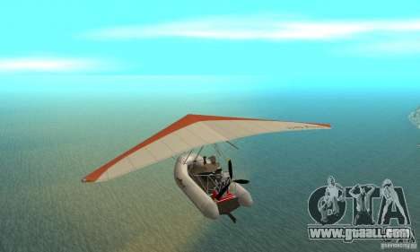 Wingy Dinghy (Crazy Flying Boat) for GTA San Andreas back left view