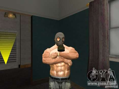 Gas Mask for GTA San Andreas
