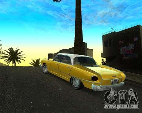 Dodge Polara for GTA San Andreas left view