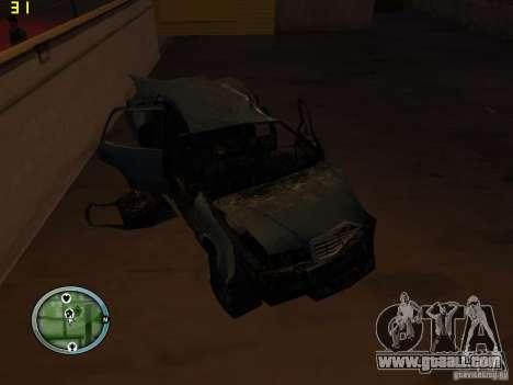 Broken cars on Grove Street for GTA San Andreas ninth screenshot