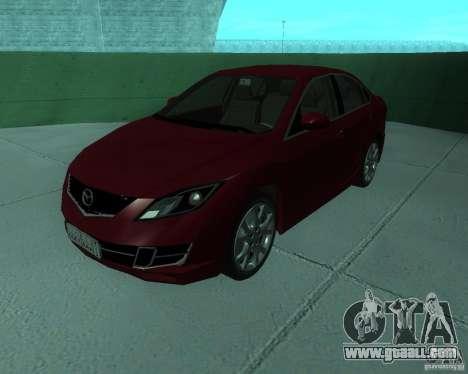 Mazda 6 2010 for GTA San Andreas