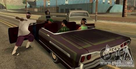 Wars Zones for GTA San Andreas second screenshot