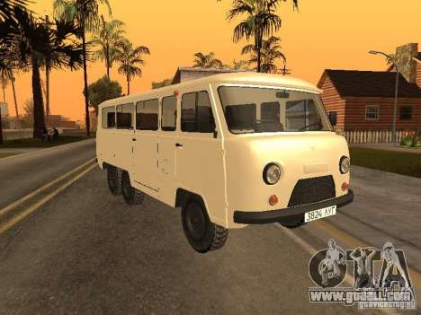 UAZ 452K for GTA San Andreas right view