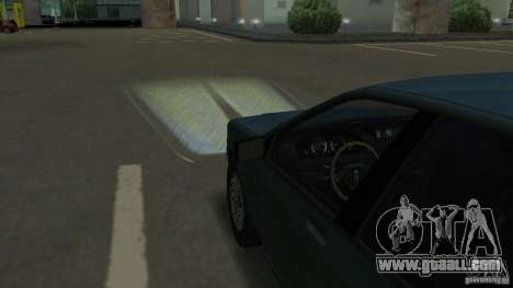 Halogen headlights for GTA San Andreas fifth screenshot