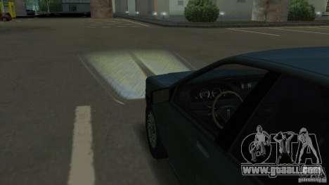 Halogen headlights for GTA San Andreas fifth screenshot