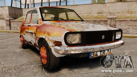 Renault 12 Toros rusty v2.0 for GTA 4