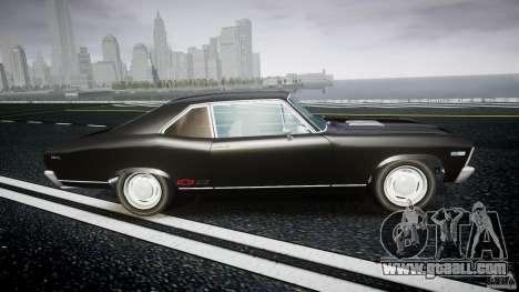 Chevrolet Nova 1969 for GTA 4 inner view