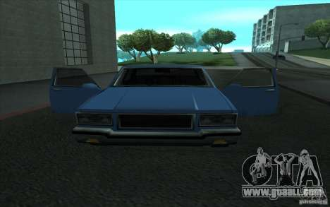 Civilian Police Car LV for GTA San Andreas back left view