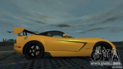 Dodge Viper SRT-10 ACR 2009 for GTA 4 left view