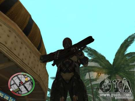 Alien weapons of Crysis 2 for GTA San Andreas seventh screenshot