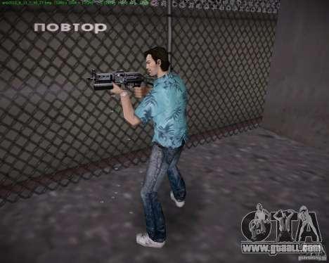 Pp-19 Bizon for GTA Vice City third screenshot