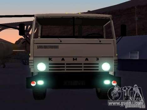 KAMAZ 53212 open for GTA San Andreas inner view
