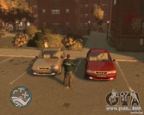 Daewoo Nexia DOHC for GTA 4 back view