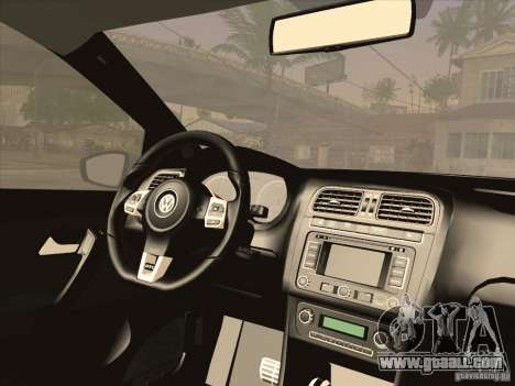 Volkswagen Polo GTI 2011 for GTA San Andreas right view