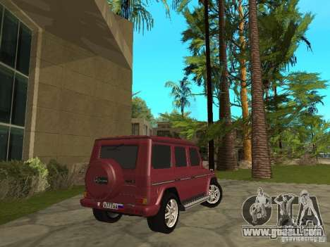 Mercedes-Benz G500 1999 Member for GTA San Andreas left view