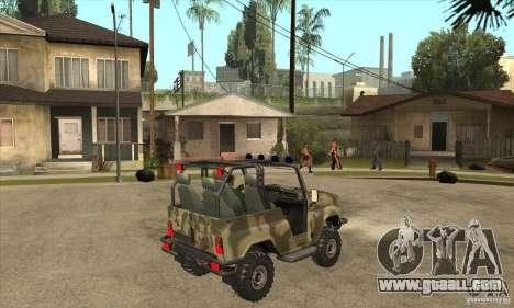 UAZ-3150 varmint for GTA San Andreas right view