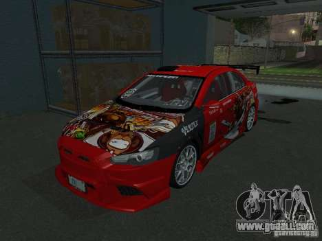 Mitsubishi Evolution X Stock-Tunable for GTA San Andreas
