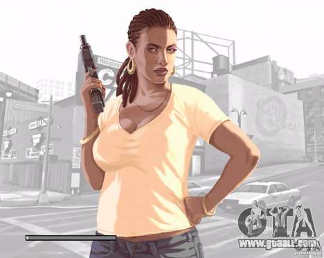Loading screens in the style of GTA IV for GTA San Andreas seventh screenshot
