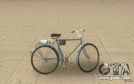 Bike Ural-Dirty version for GTA San Andreas left view
