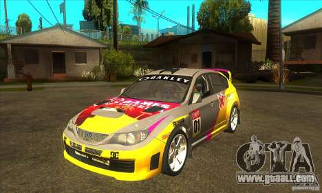 Subaru Impreza WRX STi X GAMES America of DIRT 2 for GTA San Andreas