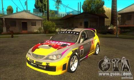 Subaru Impreza WRX STi X GAMES America of DIRT 2 for GTA San Andreas