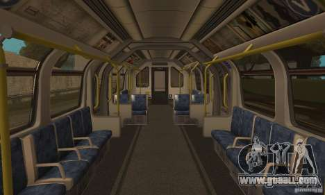 London Metro for GTA San Andreas back left view