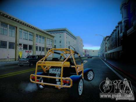 Buggy From Crash Rime 2 for GTA San Andreas right view
