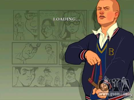 Zakruzočnye screens Bully Scholarship Edition for GTA San Andreas