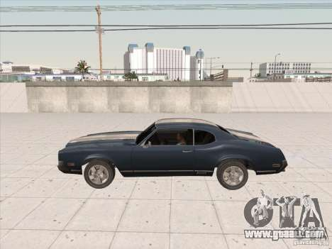 Sabre HD for GTA San Andreas back left view