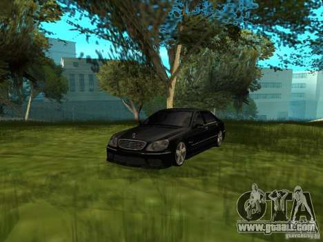 Mercedes Benz AMG S65 for GTA San Andreas