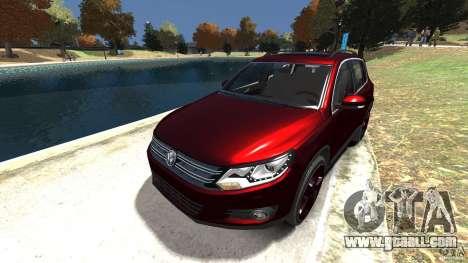 Volkswagen Tiguan 2012 for GTA 4 side view