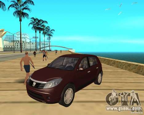 Dacia Sandero 1.6 MPI for GTA San Andreas