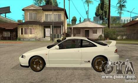 Honda Integra TypeR for GTA San Andreas left view