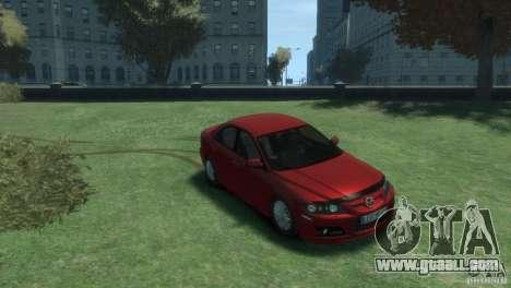 Mazda 6 MPS for GTA 4 right view