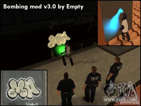 Bombing Mod by Empty v3.0 for GTA San Andreas forth screenshot