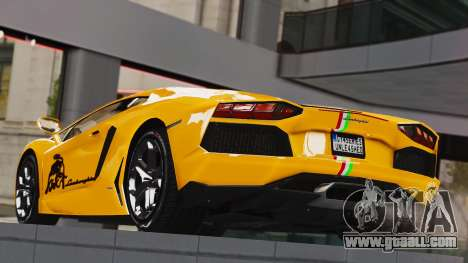 Lamborghini Aventador LP700-4 2012 for GTA 4 left view