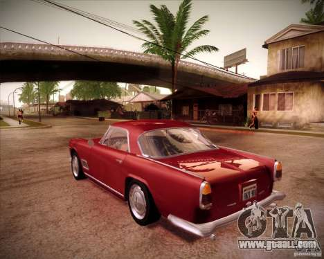 Maserati 3500 GT for GTA San Andreas left view