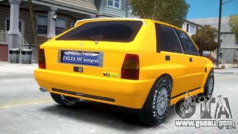 Lancia Delta HF Integrale for GTA 4 right view