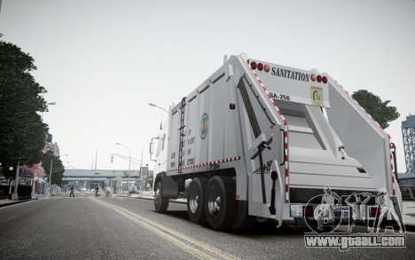 Dongfeng Denon Garbage Truck for GTA 4 back left view