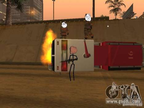 Meme Ivasion Mod for GTA San Andreas